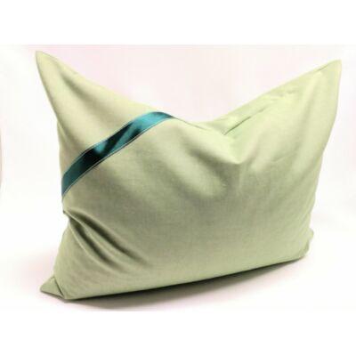 Zöld tönköly párna Extra 100% pamutban