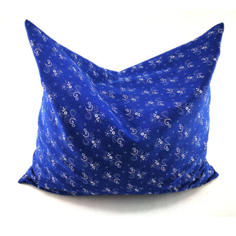 Kékfestő, Tönköly párna, 100% pamutban   34x44 cm
